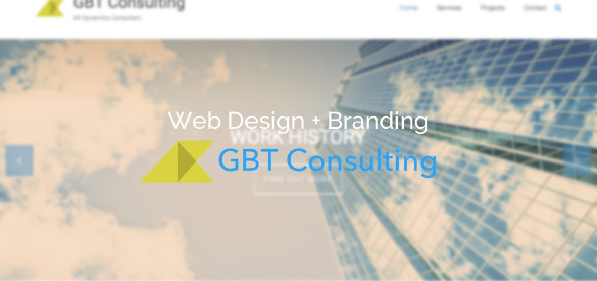 GBT consulting Web design and branding